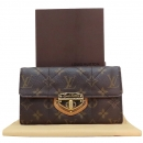Louis Vuitton(루이비통) M66556 모노그램 캔버스 포트르포일 사라 에톨 장지갑 [인천점]