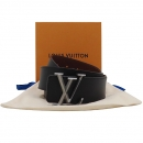 Louis Vuitton(루이비통) M9232 블랙 카프 레더 LV 피라미드 40MM 리버서블 남성용 벨트 [인천점]