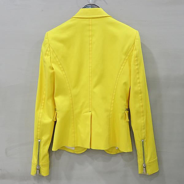 DSQUARED2 (디스퀘어드2) S75BN0260 옐로우 컬러 지퍼 장식 여성용 자켓 [부산센텀본점] 이미지3 - 고이비토 중고명품