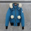 MOOSEKNUCKLES(무스너클) MK2002LB 블루 컬러 데비 여성용 폭스퍼 봄버 패딩 [대전본점]