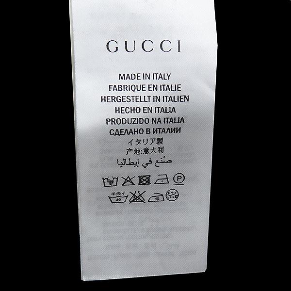 Gucci(구찌) 454585 X5K91 17FW 블랙 컬러 100%면 타이거 패치 후드 티셔츠 [대전본점] 이미지4 - 고이비토 중고명품