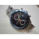 전시급)Tag Heuer(태그호이어) CV2015 CARRERA(까레라) 블루판 크로노그래프 오토매틱 스틸 남성용 시계 w