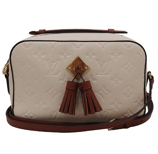 Louis Vuitton(루이비통) M44597 모노그램 앙프렝뜨 Crème Caramel 컬러 태슬 디테일 생통주 크로스바디 숄더백 [인천점]