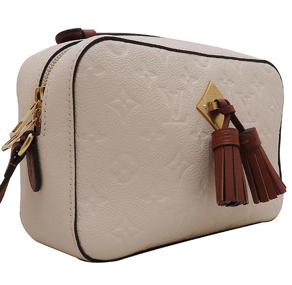 Louis Vuitton(루이비통) M44597 모노그램 앙프렝뜨 Crème Caramel 컬러 태슬 디테일 생통주 크로스바디 숄더백 [인천점] 이미지2 - 고이비토 중고명품