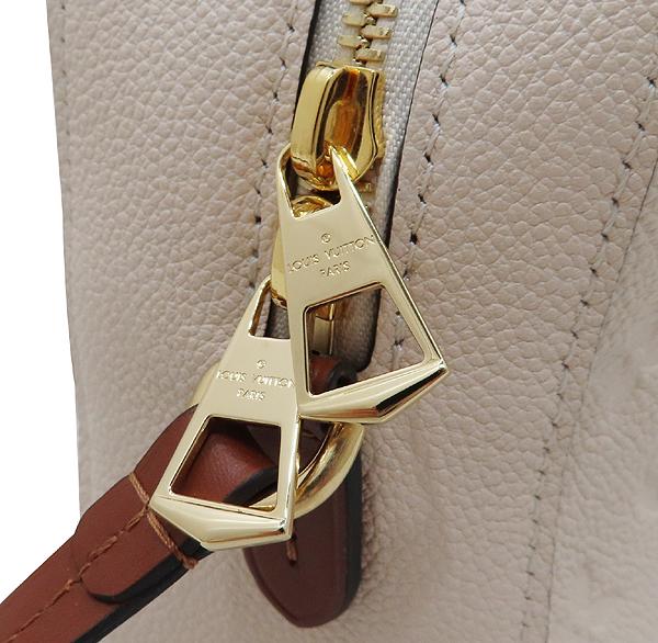 Louis Vuitton(루이비통) M44597 모노그램 앙프렝뜨 Crème Caramel 컬러 태슬 디테일 생통주 크로스바디 숄더백 [인천점] 이미지3 - 고이비토 중고명품