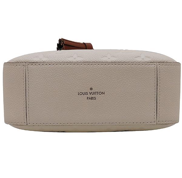 Louis Vuitton(루이비통) M44597 모노그램 앙프렝뜨 Crème Caramel 컬러 태슬 디테일 생통주 크로스바디 숄더백 [인천점] 이미지5 - 고이비토 중고명품