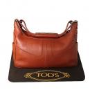 Tod's(토즈) 브라운 컬러 지퍼 장식 숄더백 [대전본점]
