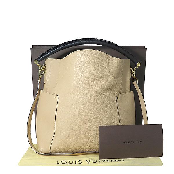 Louis Vuitton(루이비통) M50075 모노그램 앙프렝뜨 라이트 핑크 BAGATELLE 바가텔 호보 숄더백 + 숄더스트랩 2WAY [대전본점]