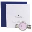 Swarovski(스와로브스키) 5130573 크리스탈 베젤 원형 라운드 여성용 스틸 시계 [강남본점]