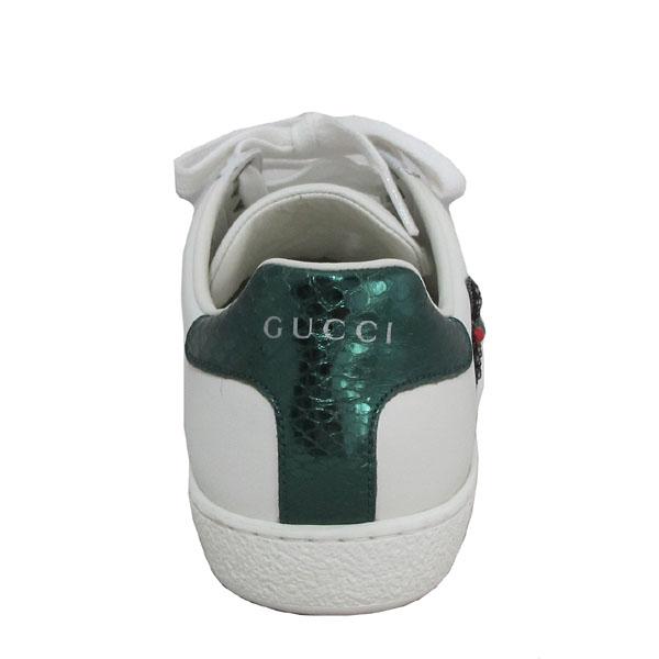 Gucci(구찌) 454551 삼색 스티치 에이스 화살 자수 여성용 스니커즈 [대구동성로점] 이미지4 - 고이비토 중고명품