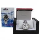 TISSOT(티쏘) T055427A 시스루백 크로노그래프 오토매틱 스틸 남성용 시계 [인천점]