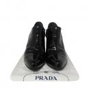 Prada(프라다) 블랙 페이던트 여성용 앵클 부츠 [대전본점]