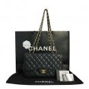 Chanel(샤넬) A58600 캐비어스킨 클래식 점보 사이즈 금장 체인 숄더백 [대구동성로점]