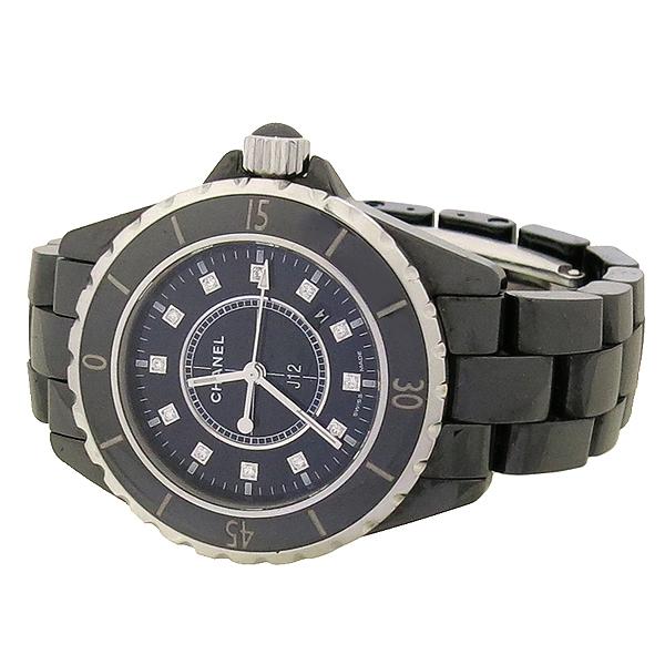 Chanel(샤넬) H1625 J12 33MM 블랙 세라믹 12포인트 다이아 여성용 시계 [강남본점] 이미지3 - 고이비토 중고명품