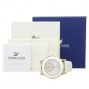 Swarovski(스와로브스키) 5095482 화이트 컬러 자개판 크리스탈 장식 쿼츠 여성용 시계 [강남본점]