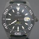 Tag Heuer(태그호이어) WAY218A 블랙 PVD 티타늄 아쿠아레이서 칼리버5 블랙 나일론 밴드 오토매틱 남성용 시계 [부산센텀본점]