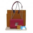Louis Vuitton(루이비통) M54277 핑크 에삐 레더 트위스트 MM 체인 숄더 겸 크로스백 [부산센텀본점]