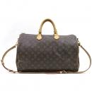 Louis Vuitton(루이비통) M40393 모노그램 캔버스 반둘리에 스피디 40 토트백 + 숄더스트랩 2way [강남본점]