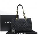 Chanel(샤넬) A20995Y01864 블랙 캐비어스킨 그랜드샤핑 금장 체인 숄더백 [강남본점]