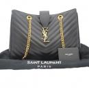 YSL(입생로랑) SAINT LAURENT PARIS(생로랑파리) 354117 블랙 캐비어스킨 퀼팅 금장 이니셜 숄더백 [잠실점]