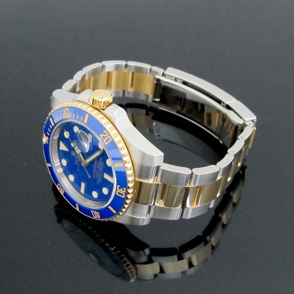 Rolex(로렉스) 116613LB 18K 콤비 SUBMARINER 서브마리너 파스텔 청판 다이얼 남성용 시계 [동대문점] 이미지3 - 고이비토 중고명품