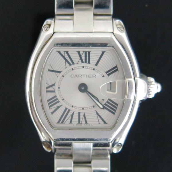 Cartier(까르띠에) W62016V3 ROADSTER(로드스터) 로마 인덱스 S 사이즈 쿼츠 여성용 시계 [동대문점] 이미지2 - 고이비토 중고명품