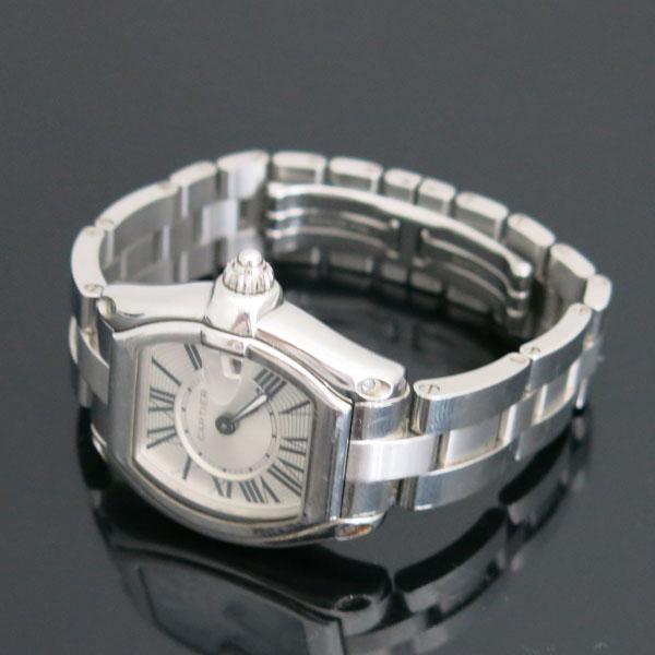 Cartier(까르띠에) W62016V3 ROADSTER(로드스터) 로마 인덱스 S 사이즈 쿼츠 여성용 시계 [동대문점] 이미지3 - 고이비토 중고명품