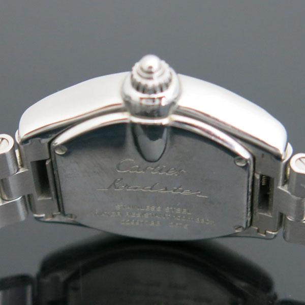 Cartier(까르띠에) W62016V3 ROADSTER(로드스터) 로마 인덱스 S 사이즈 쿼츠 여성용 시계 [동대문점] 이미지5 - 고이비토 중고명품