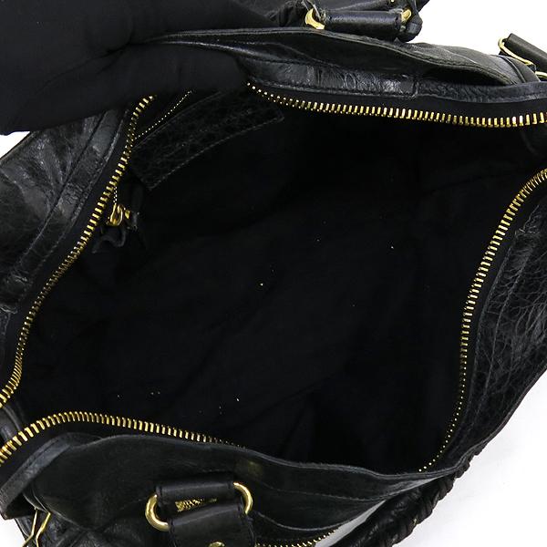 Balenciaga(발렌시아가) 173084 다크그린 컬러 레더 자이언트 시티 토트백 + 숄더스트랩 2WAY + 보조거울 [강남본점] 이미지4 - 고이비토 중고명품