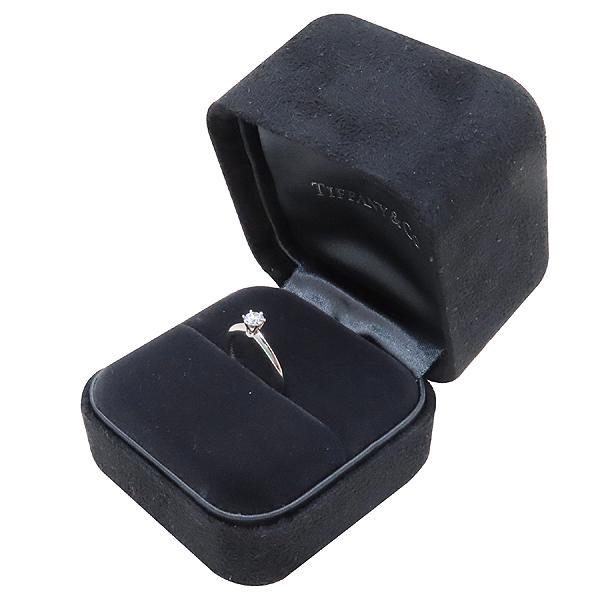 Tiffany(티파니) PT950 (플래티늄) 0.21 캐럿 다이아 웨딩 반지 - 3.5 호 [인천점] 이미지2 - 고이비토 중고명품