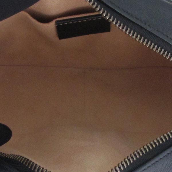 Gucci(구찌) 448065 블랙 레더 금장 GG 마몬트 마틀라쎄 미니 크로스백 [대구반월당본점] 이미지7 - 고이비토 중고명품