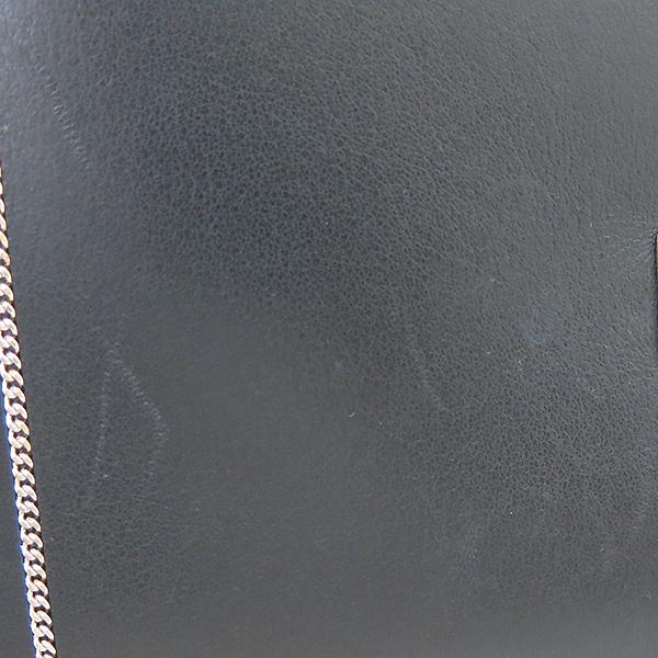 GIVENCHY(지방시) SHARK(샤크) 체인 디테일 블랙 레더 스몰 토트백 + 숄더 스트랩 [부산센텀본점] 이미지4 - 고이비토 중고명품