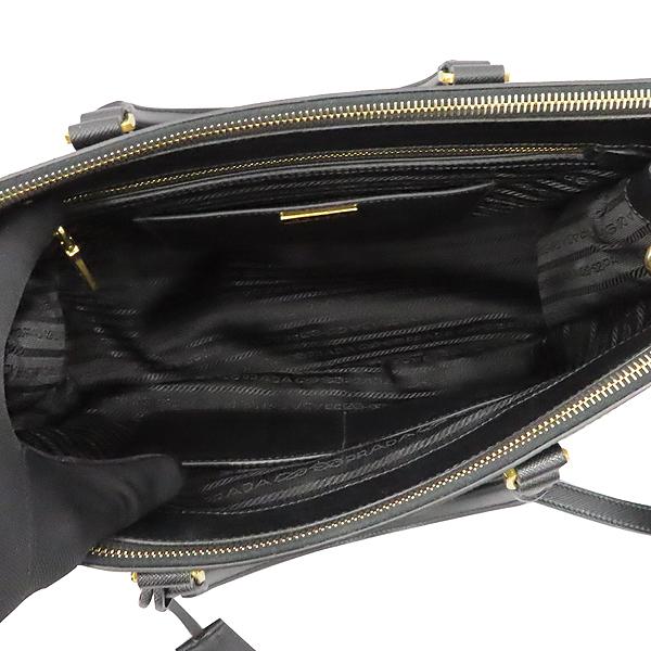Prada(프라다) BN2274 SAFFIANO LUX NERO 블랙 사피아노 레더 럭스 토트백+숄더스트랩 2WAY [대구황금점] 이미지7 - 고이비토 중고명품