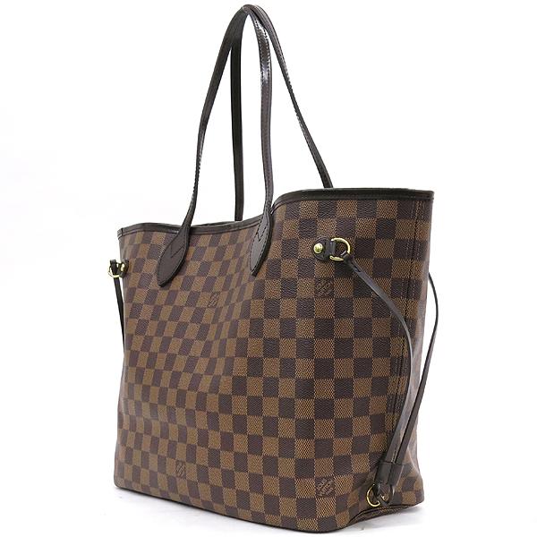 Louis Vuitton(루이비통) N41358 다미에 에벤 캔버스 네버풀 MM 숄더백+보조파우치 [잠실점] 이미지2 - 고이비토 중고명품