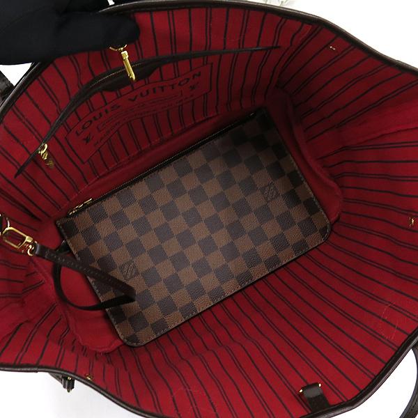 Louis Vuitton(루이비통) N41358 다미에 에벤 캔버스 네버풀 MM 숄더백+보조파우치 [잠실점] 이미지4 - 고이비토 중고명품