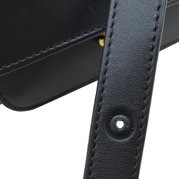 MARNI(마르니) SBMPS01U00 블랙 레더 TRUNK(트렁크) 미니 사이즈 숄더백 겸 크로스백 [인천점] 이미지7 - 고이비토 중고명품