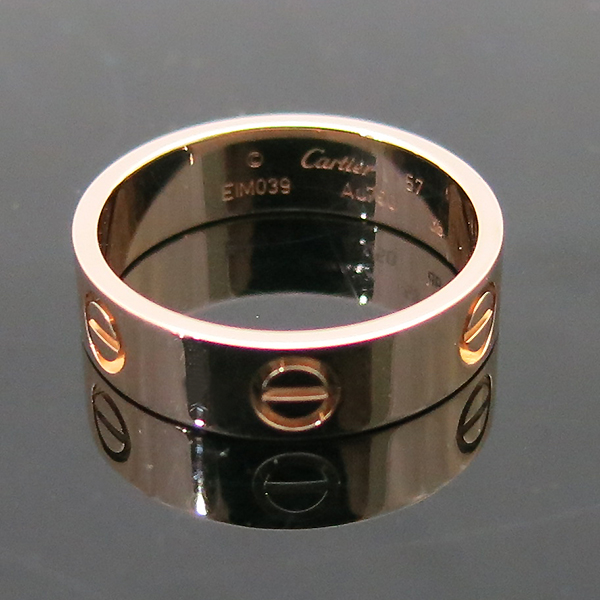 Cartier(까르띠에) B4084857 18K(750) 핑크골드 러브링 반지 - 17호 [부산센텀본점] 이미지5 - 고이비토 중고명품