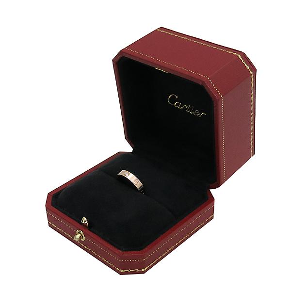 Cartier(까르띠에) B4050750 18K 핑크골드 1포인트 다이아 미니 러브링 반지-10호 [부산센텀본점] 이미지2 - 고이비토 중고명품