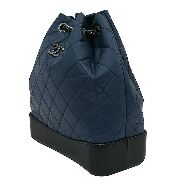 Chanel(샤넬) A94485 은장 coco로고 네이비 컬러 가브리엘 빈티지 숄더 겸 백팩 [부산센텀본점] 이미지3 - 고이비토 중고명품