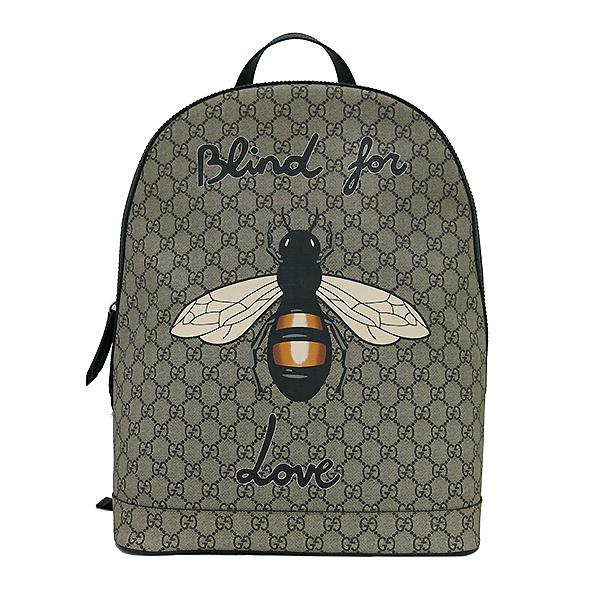 Gucci(구찌) 419584 GG로고 꿀벌 스티치 수프림 백팩 [부산센텀본점] 이미지2 - 고이비토 중고명품