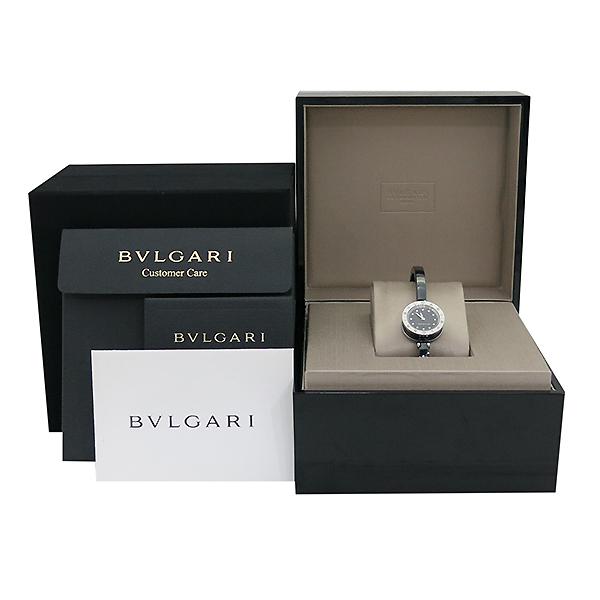 Bvlgari(불가리) BZ23SC 신형 B-ZERO1(비제로원) 블랙판 세라믹 브레이슬릿 뱅글 여성용 시계 [부산센텀본점]