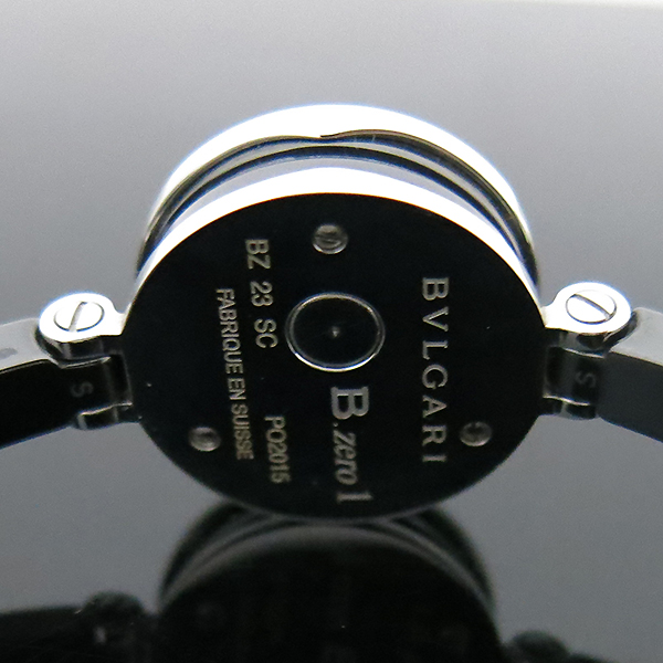 Bvlgari(불가리) BZ23SC 신형 B-ZERO1(비제로원) 블랙판 세라믹 브레이슬릿 뱅글 여성용 시계 [부산센텀본점] 이미지6 - 고이비토 중고명품
