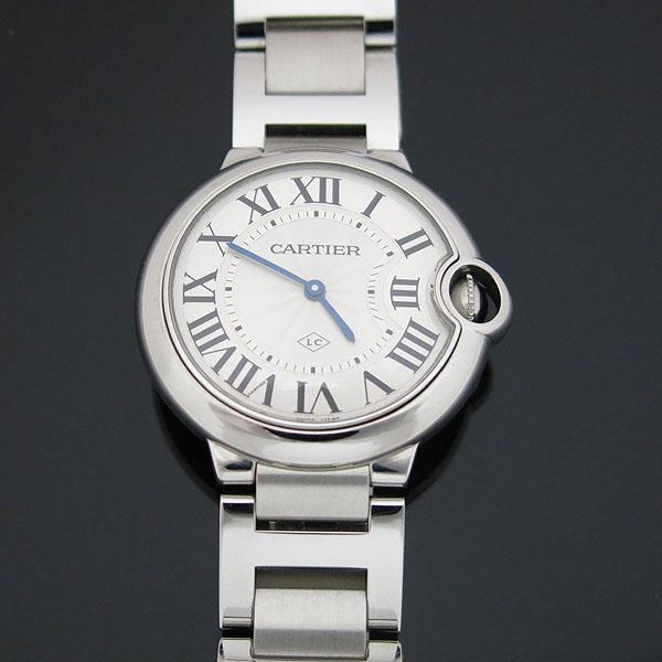 Cartier(까르띠에) W69011Z4 발롱블루 드 까르띠에 스틸 쿼츠 36MM 남여공용 시계 [대구동성로점] 이미지2 - 고이비토 중고명품