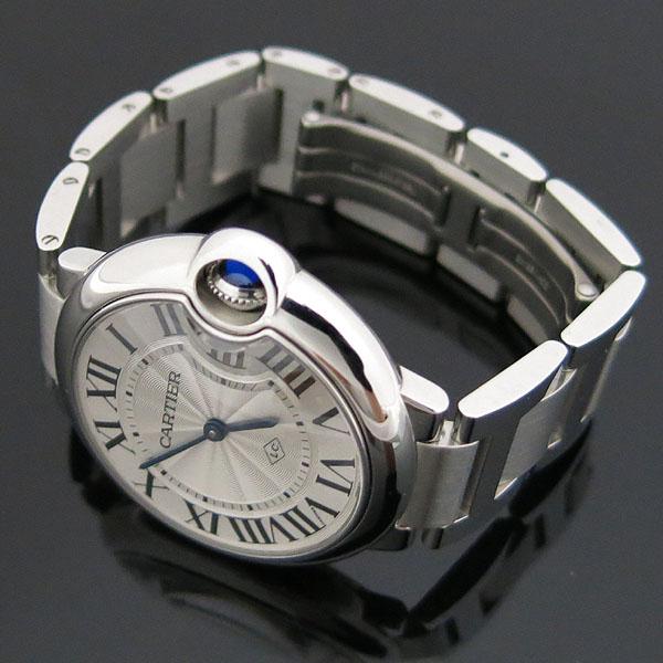 Cartier(까르띠에) W69011Z4 발롱블루 드 까르띠에 스틸 쿼츠 36MM 남여공용 시계 [대구동성로점] 이미지3 - 고이비토 중고명품