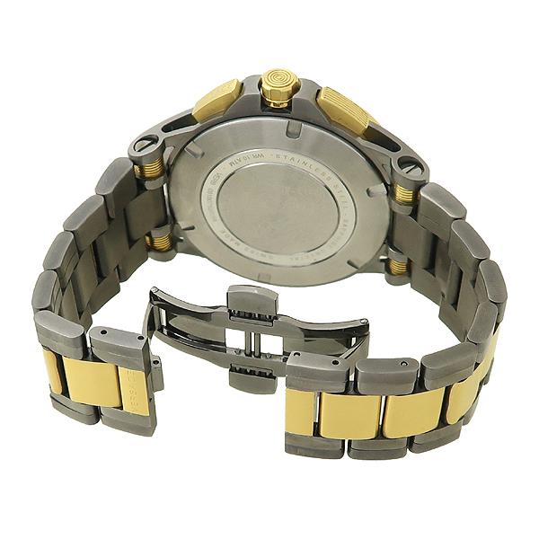 Versace(베르사체) VERB00718 크로노그래프 스틸 쿼츠 금장 Sport Tech (스포츠 테크) 남성용 시계 [잠실점] 이미지3 - 고이비토 중고명품