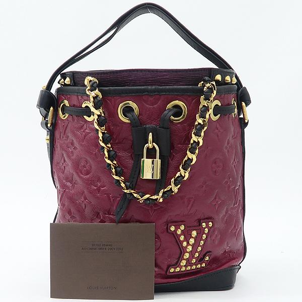 Louis Vuitton(루이비통) M40285 한정 컬렉션 모노그램 더블 쥬 네오 노에 숄더백 [강남본점]