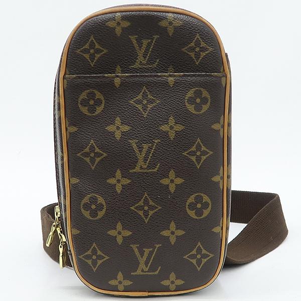 Louis Vuitton(루이비통) M51870 모노그램 캔버스 포쉐트 강지 크로스백 겸 힙색 [강남본점]