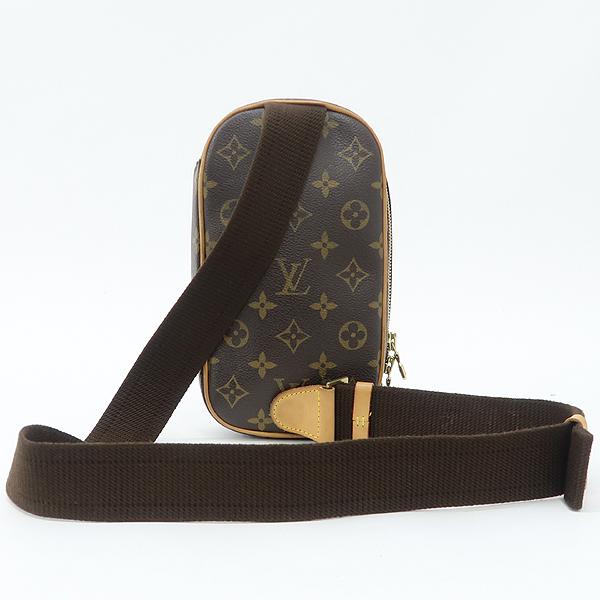 Louis Vuitton(루이비통) M51870 모노그램 캔버스 포쉐트 강지 크로스백 겸 힙색 [강남본점] 이미지3 - 고이비토 중고명품