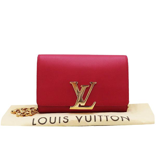 Louis Vuitton(루이비통) M94687 레드 컬러 루이즈 GM 체인 숄더백  [인천점]