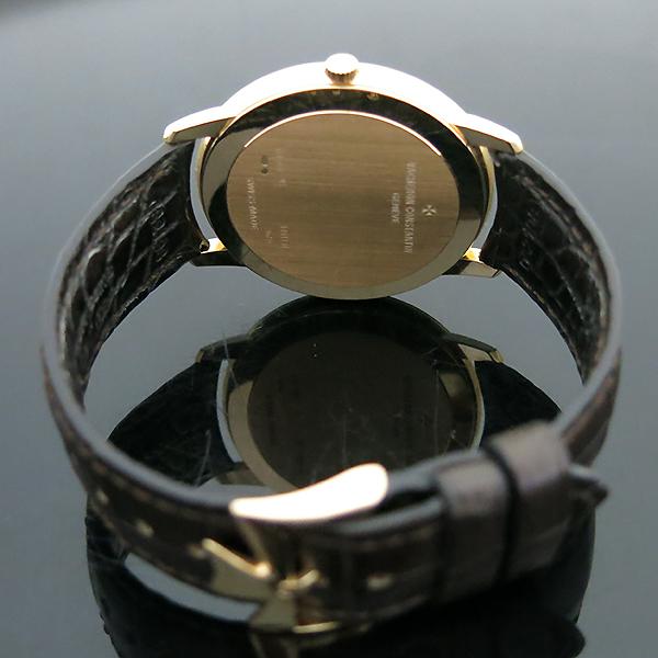 Vacheron Constantin(바쉐론 콘스탄틴) 18k 핑크골드 금통 Patrimony(패트리모니) 81180/000R-9159 수동 기계식 가죽밴드 남성용 시계 [부산센텀본점] 이미지5 - 고이비토 중고명품